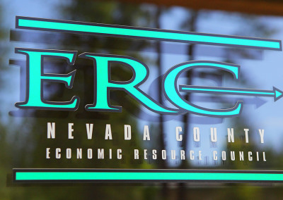 ERC Signage on Glass