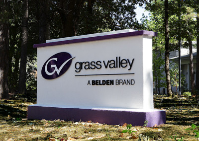 Grass Valley Group Signage