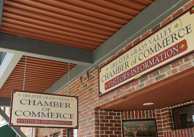 GV Chamber of Commerce Signage