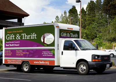 Gift & Thrift Truck Signage