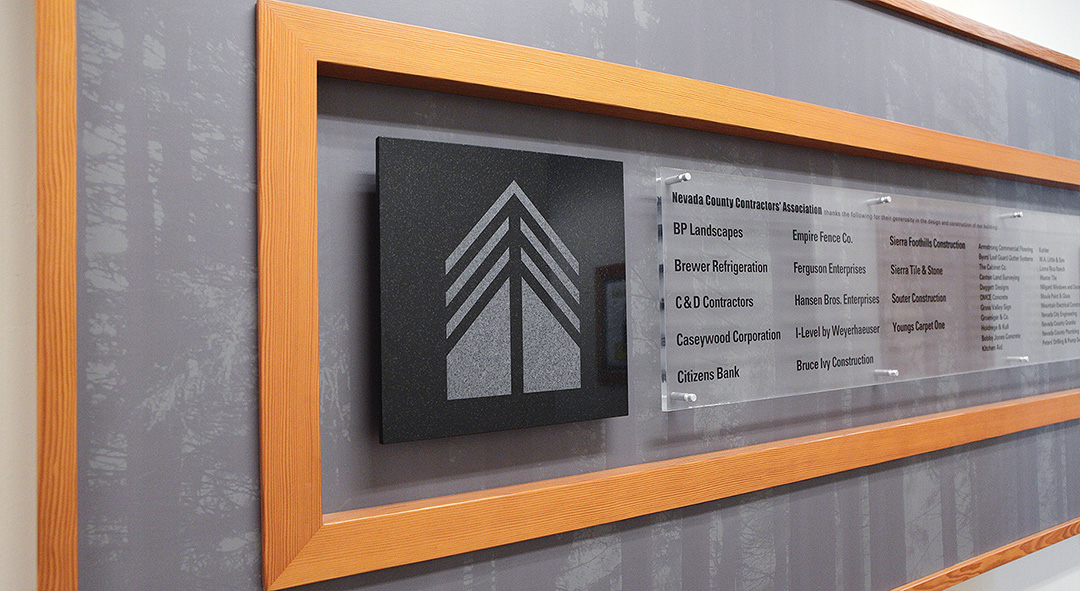 NCCA Members Interior Plaque Signage