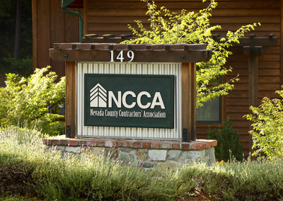 NCCA Signage by Grass Valley Sign