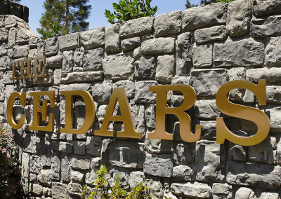 Raised Letters - Residential Signage