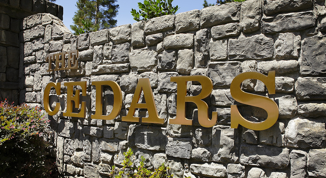 Raised Letters – Residential Signage