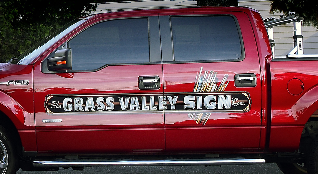 Grass Valley Sign Auto Signage